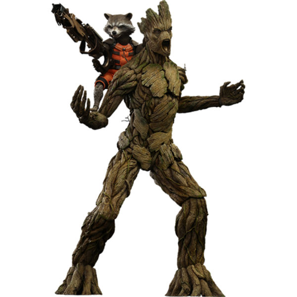 Hot Toys Guardians Of The Galaxy Rocket Raccon And Groot 1