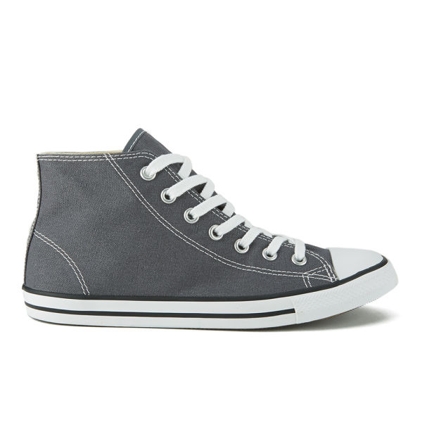 Converse Women s Chuck Taylor All Star Dainty Canvas Hi-Top Trainers -  Thunder  Image 87570eb66