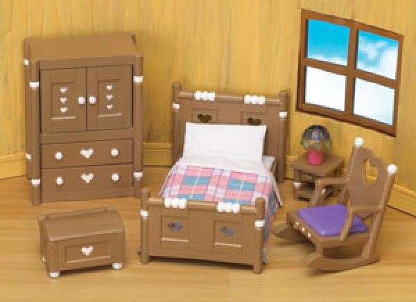 Sylvanian Families Field View Bedroom Furniture Set Toys