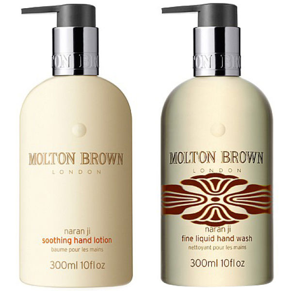 molton brown naran ji hand wash hand lotion set free shipping lookfantastic. Black Bedroom Furniture Sets. Home Design Ideas