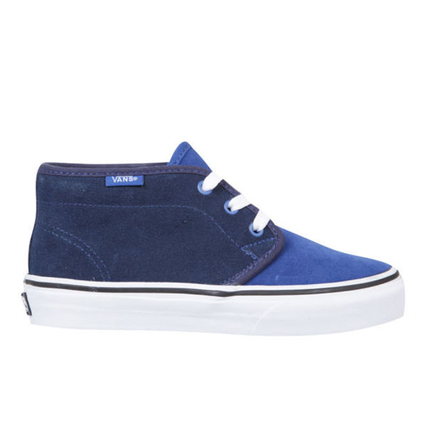 8f2d19ce9ffdb9 Vans Kids  Two Tone Suede Chukka Boots - True Blue Dress Blue - Free UK  Delivery over £50