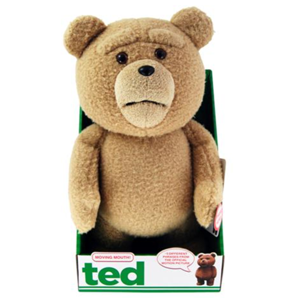 Toys For Ted : Ted inch talking plush with moving mouth iwoot