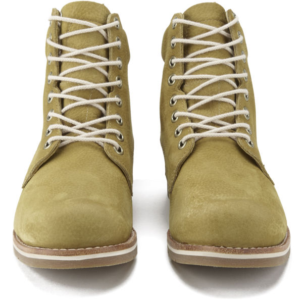 Timberland Menu0027s Earthkeepers Rugged LT 6 Inch Plain Toe Lace Up Leather  Boots   Wheat:
