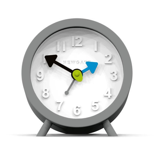 Newgate Fred Alarm Clock - Clockwork Grey