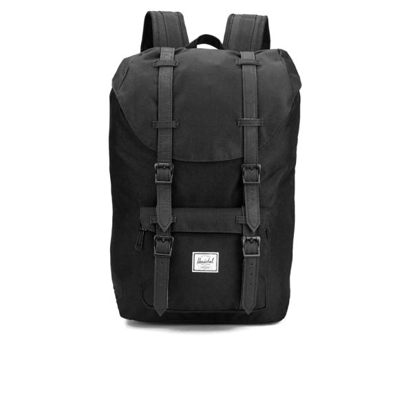 9fe28a3130c Herschel Supply Co. Classic Little America Mid Volume Backpack - Black   Image 1