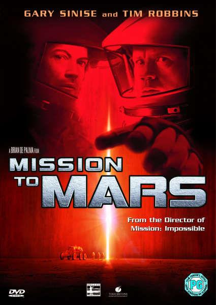 Mission To Mars DVD   Zavvi