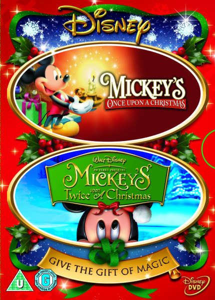 Mickey's Once And Mickey's Twice Upon A Christmas DVD | Zavvi.com