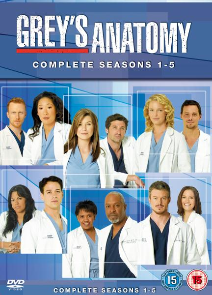 GREYS ANATOMY - The Complete Fourth Season (DVD, 2008, 5 ...