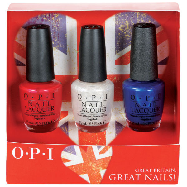 OPI Great Britain, Great Nails! 3 products
