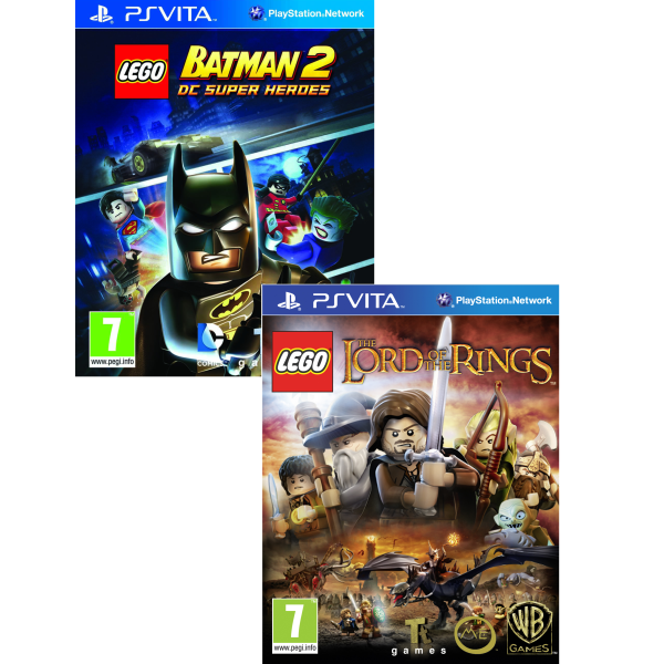 LEGO: Lord Of The Rings and LEGO Batman 2: DC Super Heroes Bundle ...