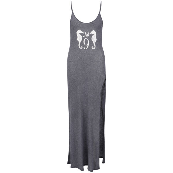Wildfox Women's Sea Horse Jetset Maxi Dress - Clean Black