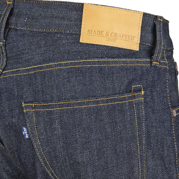 Levi 39 s made crafted men 39 s mid rise thumb tack jeans for Levis made and crafted review