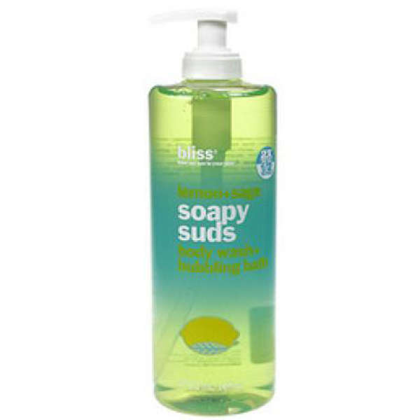 bliss Lemon and Sage Soapy Suds Body Wash and Bubbling Bath (473.2ml)