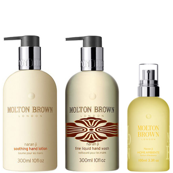 molton brown golden hand wash lotion gift set free shipping lookfantastic. Black Bedroom Furniture Sets. Home Design Ideas