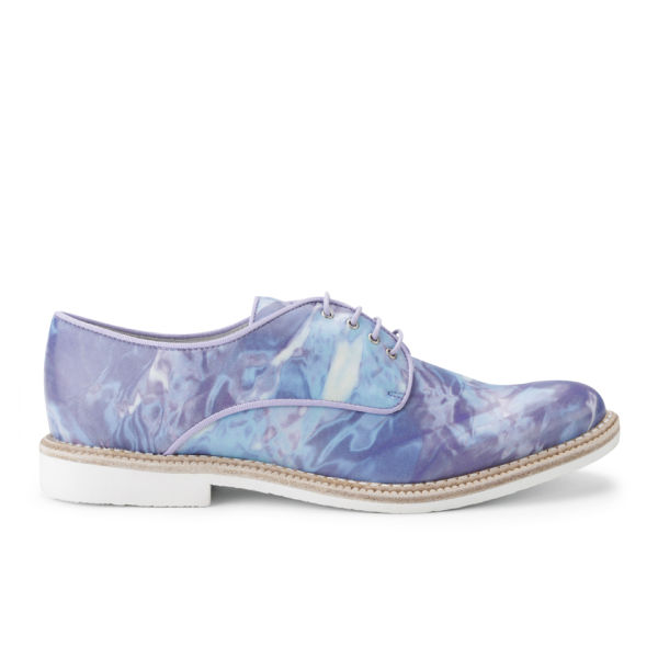 Miista Women's Zoe Brogues - Aqua Perfuma Blue