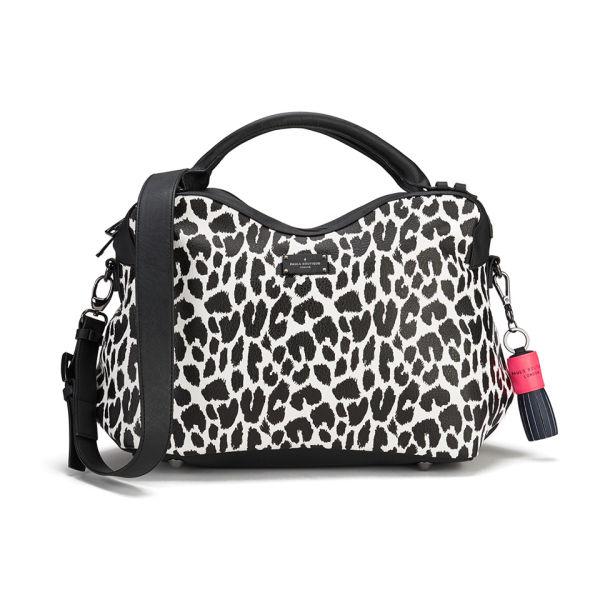 3dac9e0679c Paul s Boutique Lauren Graphic Leopard Tote Bag - White Womens ...