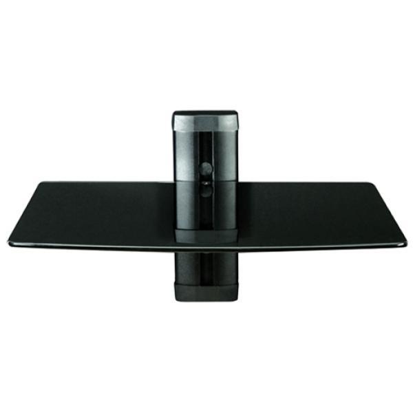 levv wall mount for blu ray dvd digibox 1 shelf. Black Bedroom Furniture Sets. Home Design Ideas