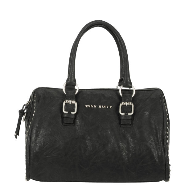 Miss Sixty Logo Bowling Bag - Black