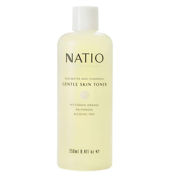 Tonifiant doux pour la peau à l'eau de rose et camomille de Natio (250ml)