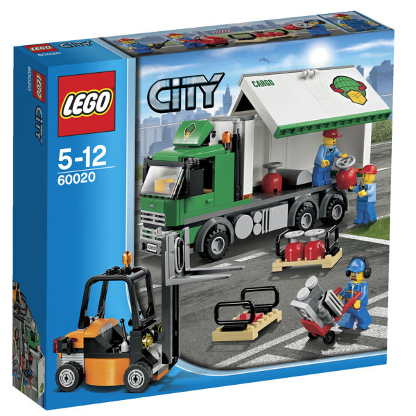 lego city airport cargo truck 60020 iwoot