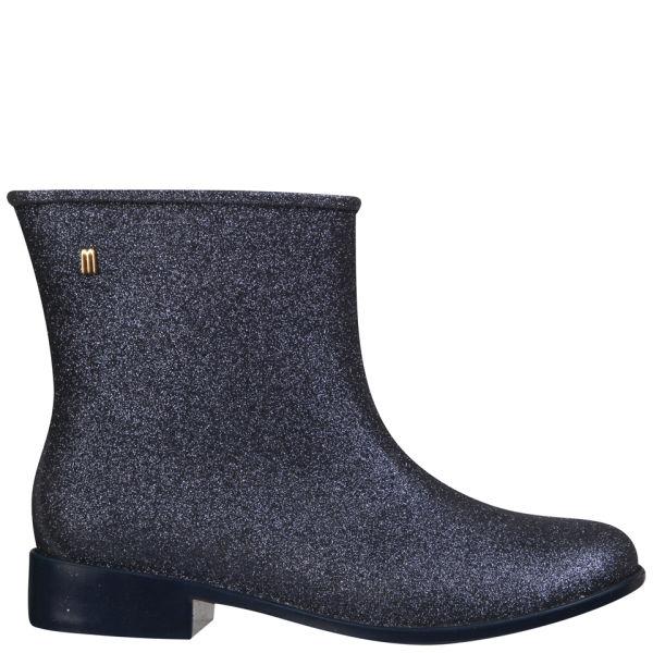 Melissa Women's Moon Dust Ankle Boots - Midnight Glitter