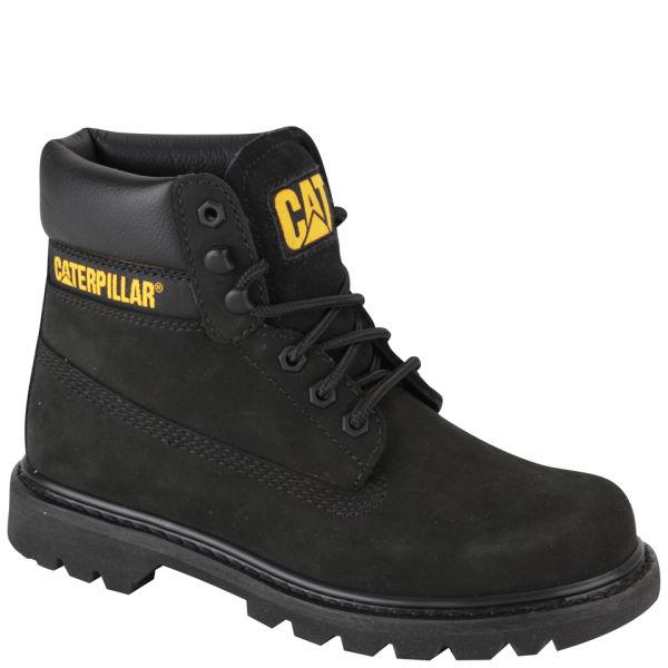 caterpillar s colorado leather suede boots black