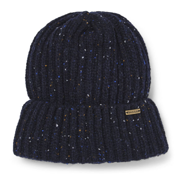 Barbour Men s Tyne Turnback Beanie Hat - Navy Mix - Free UK Delivery over £ 50 923ae8d736c7