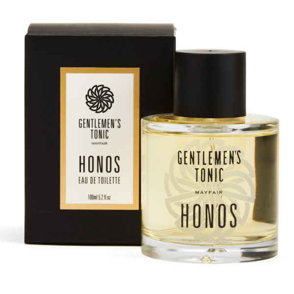 Gentlemen's Tonic Eau de Toilette - Honos (100ml)