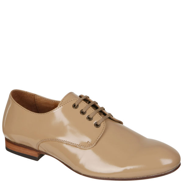 H Shoes by Hudson Women's Lincoln Patent Brogues - Beige