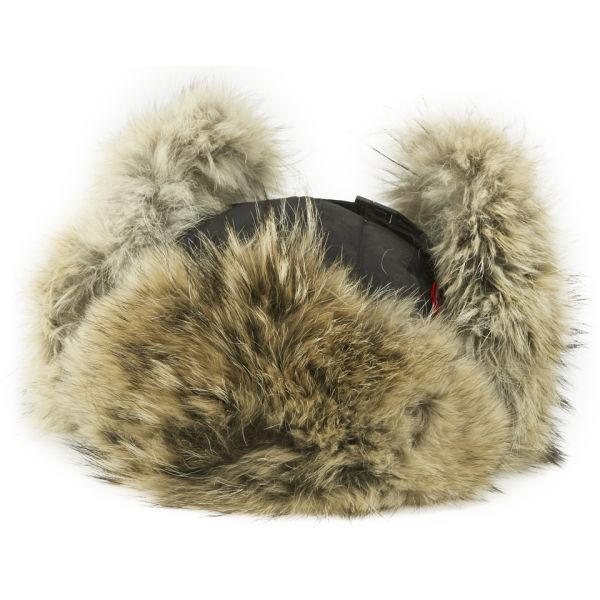 Canada Goose Women S Aviator Coyote Fur Hat Black Free