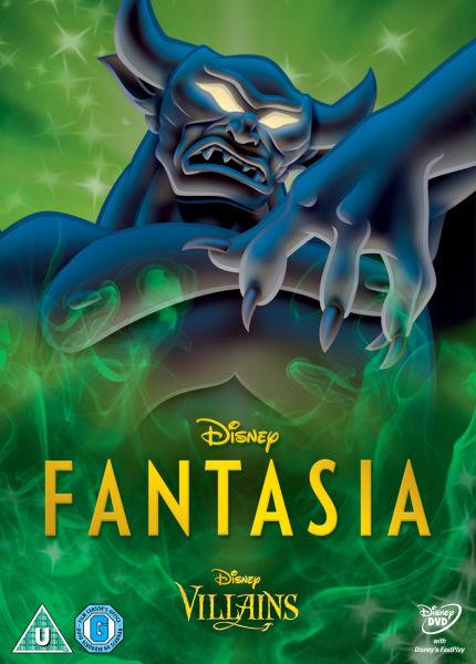 Fantasia Disney Villains Limited Artwork Edition Dvd Zavvi