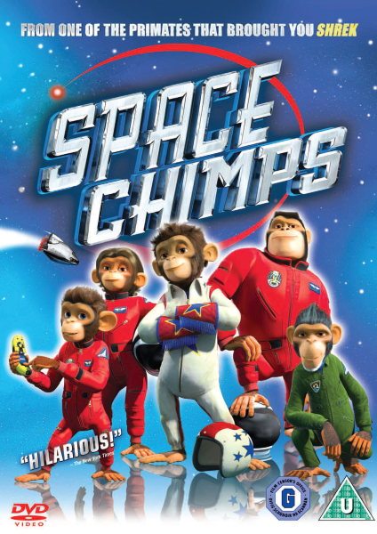 Space Chimps Dvd Zavvi