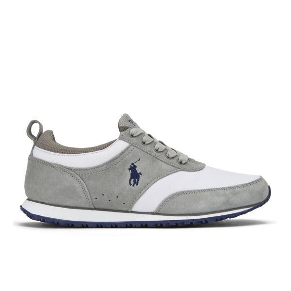 Polo Ralph Lauren Mens Ponteland Runner Trainers  GreyWhite Image 1