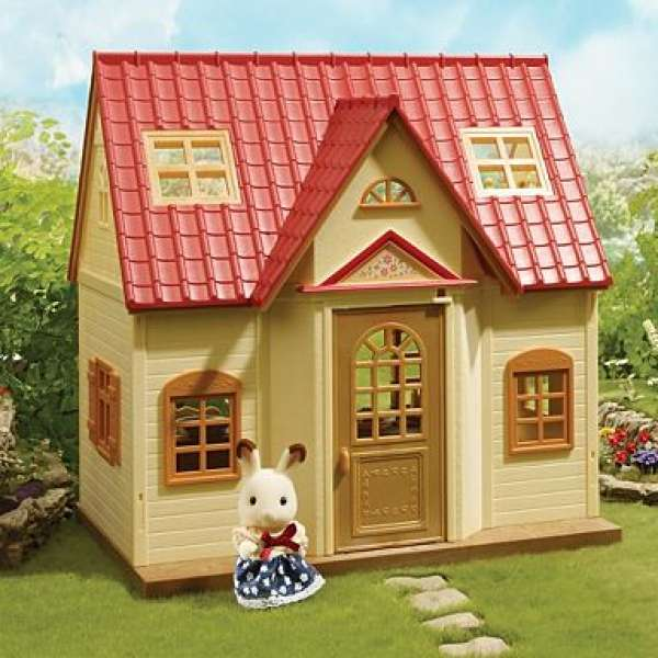 Sylvanian Families Home Sweet Home Sycamore Cottage Toys Thehut Com