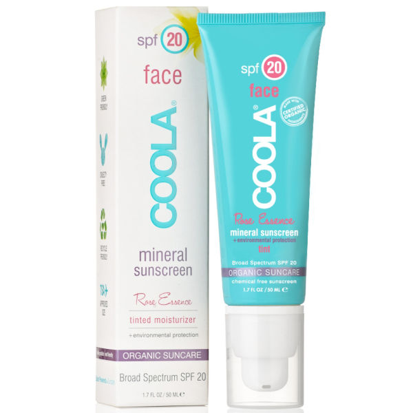 Coola MineralFace SPF 20 Lotion Tinted Rose (1.7oz)