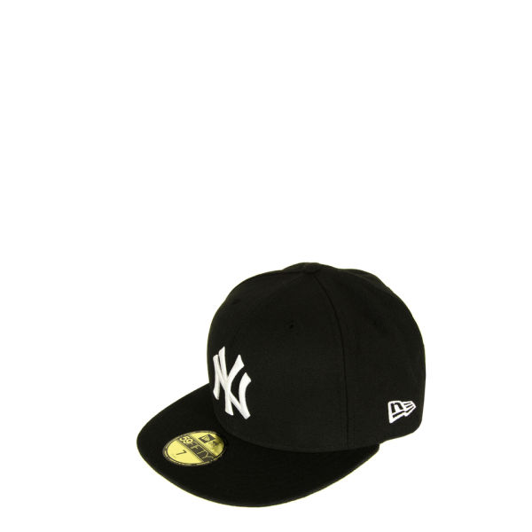 New Era Men's MLB 59FIFTY New York Yankees Hat - Black & White