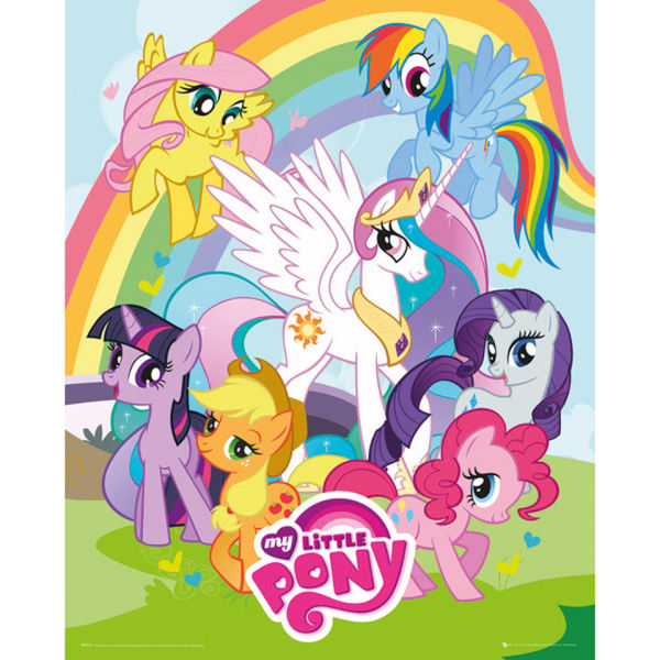 My Little Pony Group - Mini Poster - 40 x 50cm