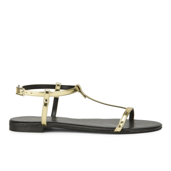 KG Kurt Geiger Women's Match Metallic Sandals - Gold