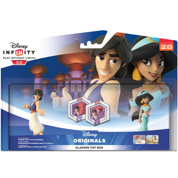 Disney Infinity 2 0 Aladdin Toy Box Set Games Zavvi