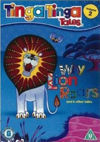 Tinga Tinga Tales Why Lion Roars Dvd Zavvi