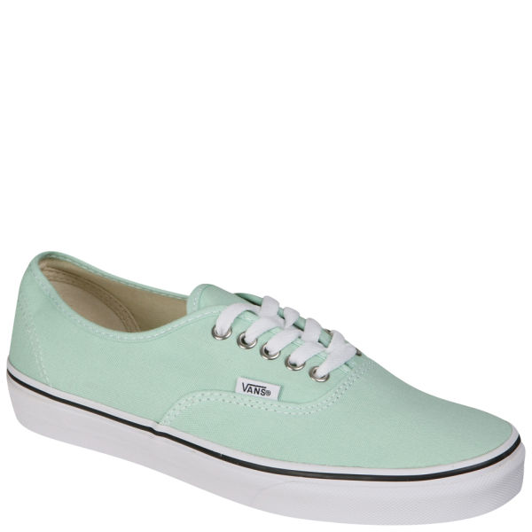 Vans Authentic Canvas Trainers - Gossamer Green/True White