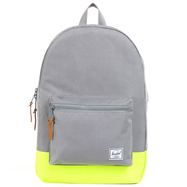 Herschel Supply Co. Settlement Backpack - Grey Yellow Rubber  Image 1 dc66fa7d57a6f