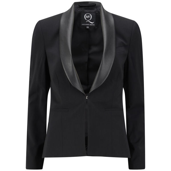 McQ Alexander McQueen Womenu0026#39;s Tuxedo Jacket - Black - Free UK Delivery Over U00a350