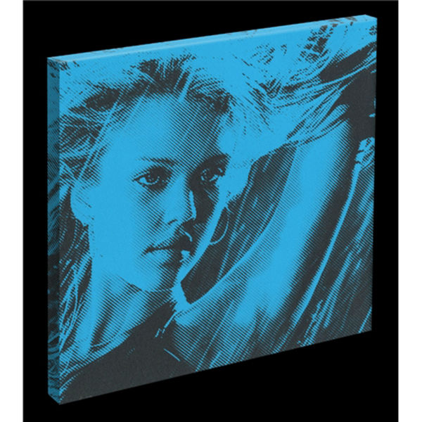 Sin City - Nancy - Jessica Alba - Canvas Art Print