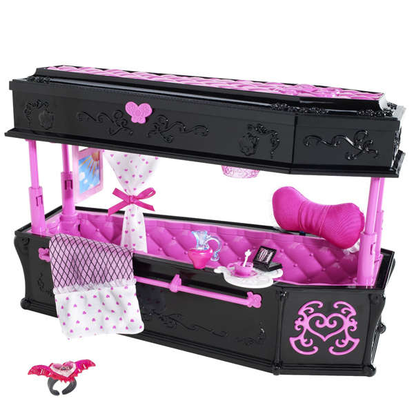 Monster High Room Decor Draculaura Jewellery Box Coffin Toys ...