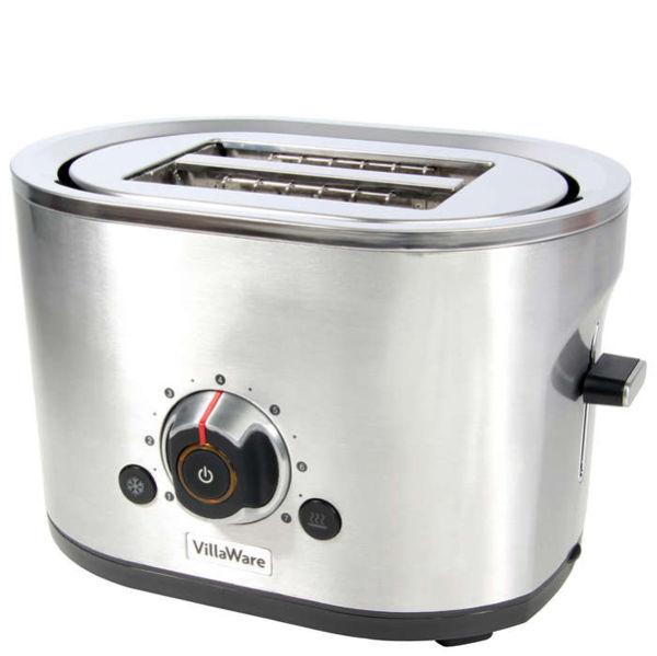 Villaware Coffee Maker Manual : Villaware 2 Slice Stainless Steel Toaster IWOOT