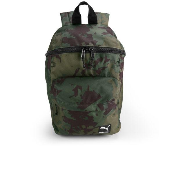 5fd108f2dbf Puma Foundation Backpack - Dark Olive | FREE UK Delivery | Allsole