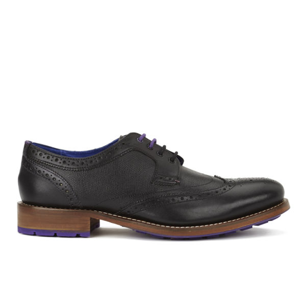 1b6118f74c856f Ted Baker Men s Cassiuss 3 Leather Brogues - Black