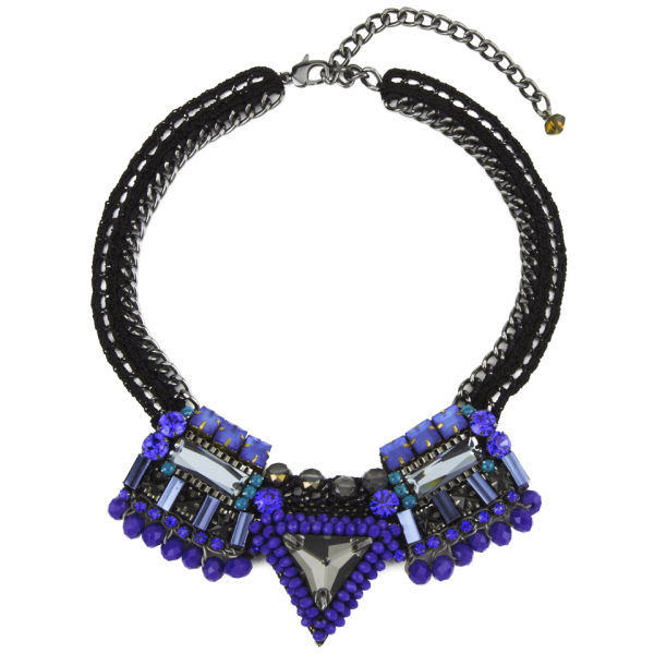 Nocturne Women's Sofia Cobalt Necklace