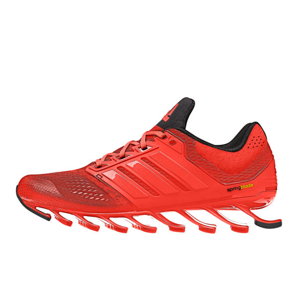 adidas Men's Springblade Drive Running Shoes - Solar Red/Black/Solar Red:  Image